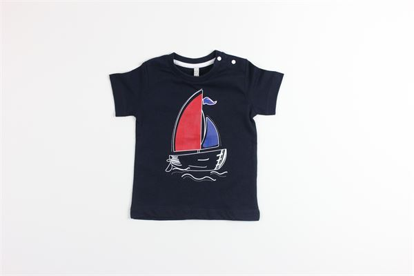 t-shirt tinta unita mezza manica BIRBA | T-shirts | 999840060075FBLU