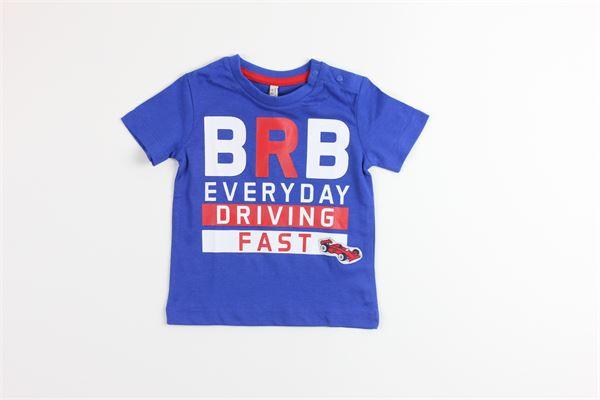 t-shirt tinta unita con stampa BIRBA | T-shirts | 999840070075ABLU