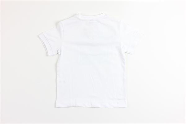 t-shirt mezza manica tinta unita con stampa BIRBA | T-shirts | 999840340007MBIANCO
