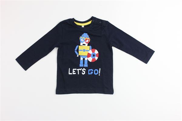 shirt tinta unita con stampa BIRBA | Shirts | 999840480075FBLU
