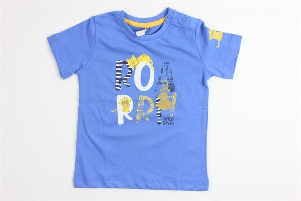 t-shirt mezza manica tinta unita con stampa BIRBA | T-shirts | 999840550065UBLU