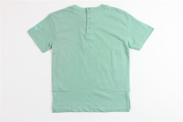 t-shirt mezza manica tinta unita con stampa BIRBA | T-shirts | 999840610025IVERDE