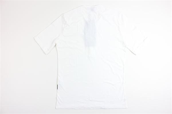 t-shirt mezza manica tinta unita BLACK CIRCUS | T-shirts | SEU637SBIANCO