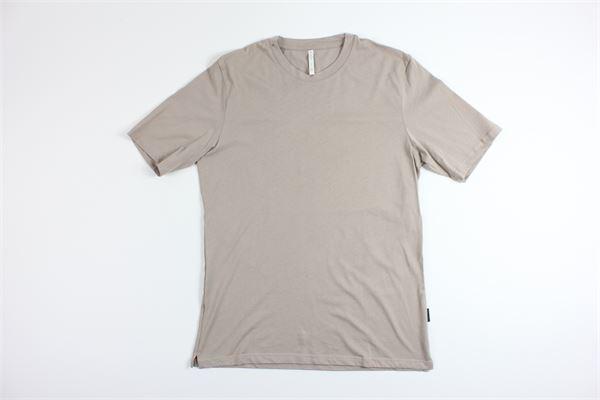 t-shirt mezza manica tinta unita BLACK CIRCUS | T-shirts | TS00182BEIGE