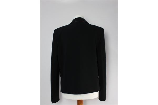 giacca elegante tinta unita BOUTIQUE MOSCHINO | Giacche | GIACCA 2NERO