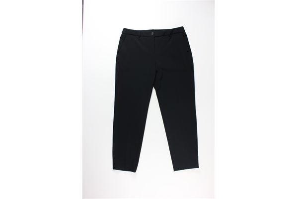 pantalone tinta unita con zip BOUTIQUE MOSCHINO | Pantaloni | HA0303NERO