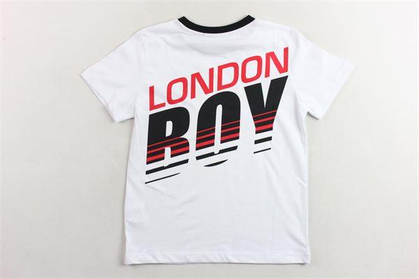 t-shirt tinta unita  con stampa BOY LONDON | T-shirts | TSBL2156JBIANCO