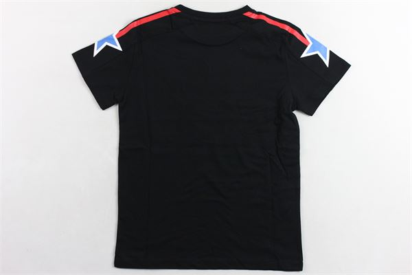 t-shirt tinta unita  con stampa BOY LONDON | T-shirts | TSBL2157JNERO