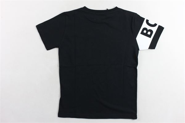 t-shirt tinta unita  con stampa BOY LONDON | T-shirts | TSBL2162JNERO
