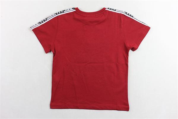 t-shirt tinta unita  con stampa BOY LONDON | T-shirts | TSBL9315JBORDEAUX