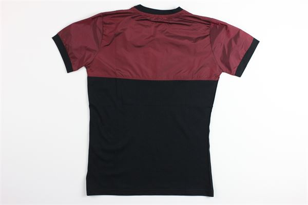 t-shirt mezza manica bicolore BRIAN RUSH | T-shirts | BG087/20NERO