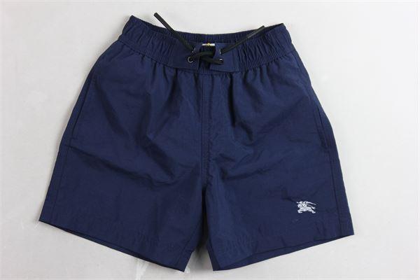 boxer tinta unita BURBERRY | Costumi | 8007154A1474BLU