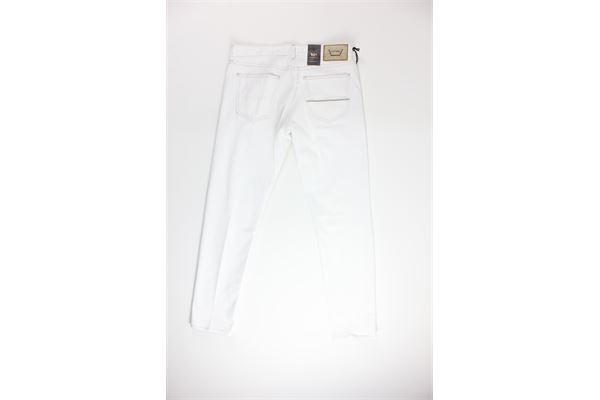 jeans tinta unita 5 tasche CARELABEL | Jeans | 214BIANCO
