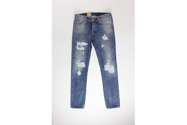 jeans tinta unita 5 tasche con strappi CARELABEL | Jeans | 224JEANS