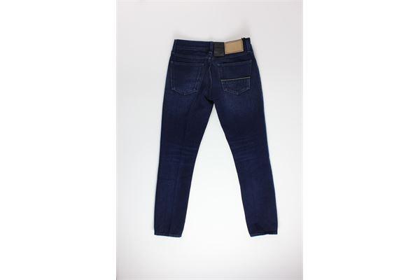 jeans tinta unita 5 tasche CARELABEL | Jeans | 237BLU