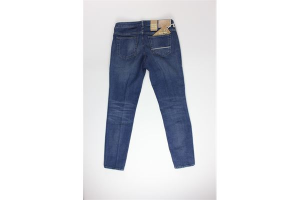jeans tinta unita 5 tasche CARELABEL | Jeans | 356BLU