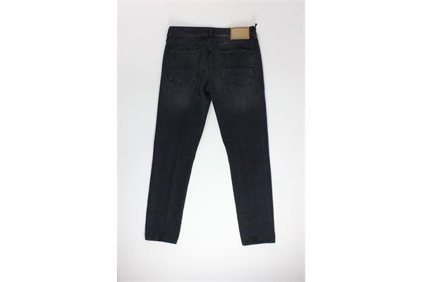 jeans tinta unita 5 tasche CARELABEL | Jeans | 489NERO
