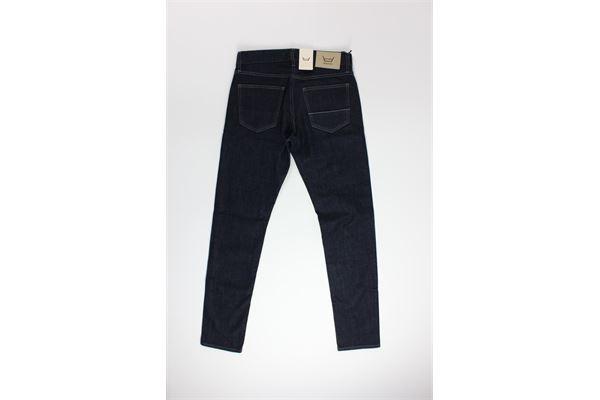 jeans tinta unita 5 tasche CARELABEL | Jeans | BODIES214BLU