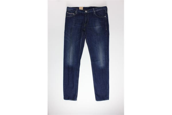 jeans tinta unita 5 tasche CARELABEL | Jeans | FRAME103BLU