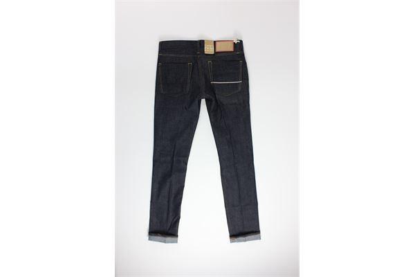 jeans tinta unita 5 tasche CARELABEL | Jeans | FRAME103NERO