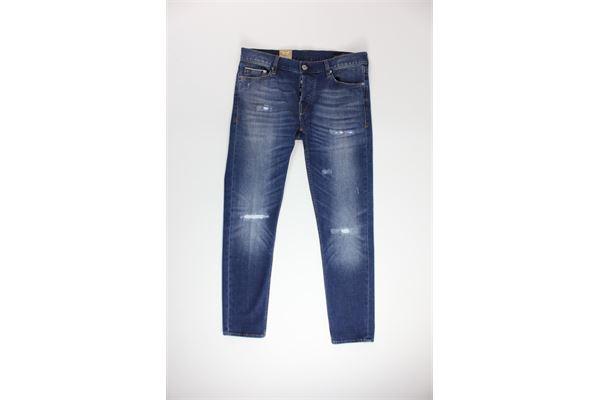 jeans tinta unita 5 tasche CARELABEL | Jeans | S214JEANS