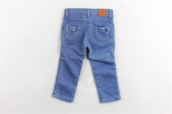 pantalone in denim girovita regolabile CARRE'MENT BEAU | Jeans | Y14106BLU