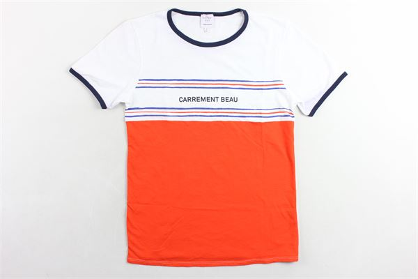 t-shirt con stampa CARRE'MENT BEAU | T-shirts | Y25242BIANCO