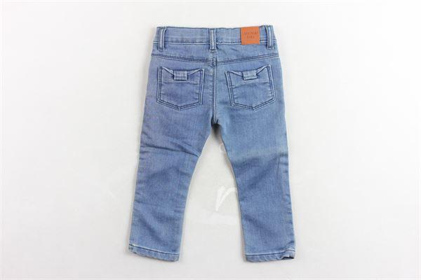 pantalone in denim girovita regolabile CARRE'MENT BEAU | Jeans | Y94099BLU