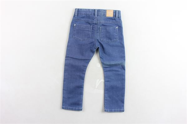 pantalone in denim girovita regolabile CARRE'MENT BEAU | Jeans | Y94143BLU