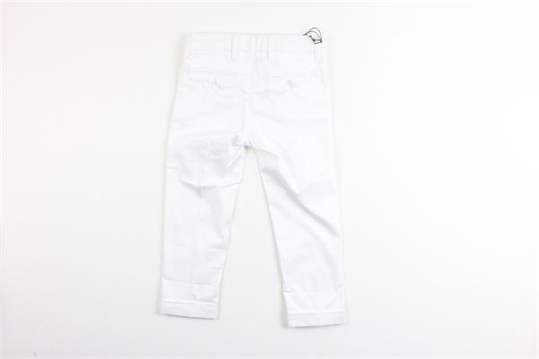 pantalone tinta unita tasche america girovita regolabile CF12 MILANO | Pantaloni | AMARILLO2BIANCO