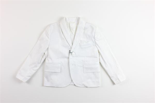 giacca tinta unita con taschino CF12 MILANO | Giacche | AMARILLOBIANCO