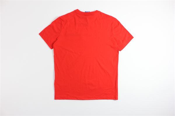t-shirt mezza manica tinta unita con stampa CHAMPION | T-shirts | 214194ROSSO