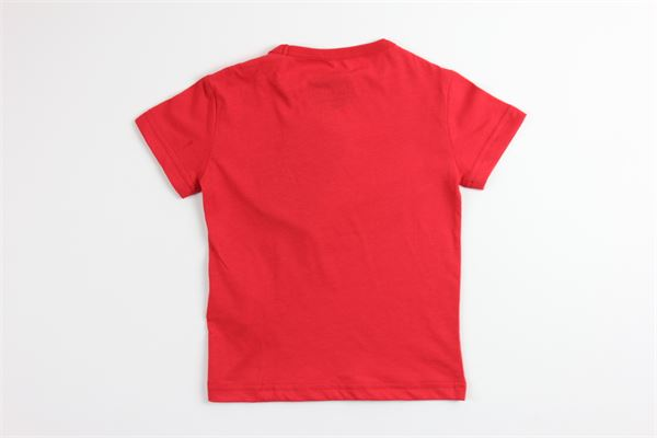 t-shirt tinta unita con stampa COLMAR | T-shirts | 3520ROSSO