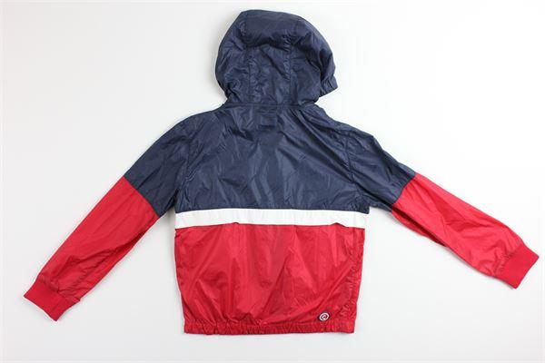 giubbino bicolore con zip e cappuccio COLMAR | Giubbini | 39622BORDEAUX/BLU