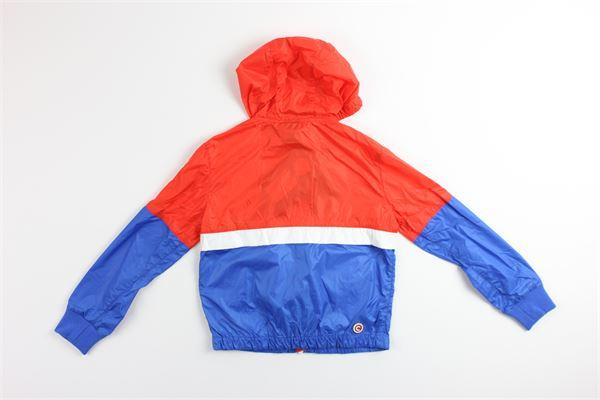 giubbino bicolore con zip e cappuccio COLMAR | Giubbini | 39622ROSSO/BLU