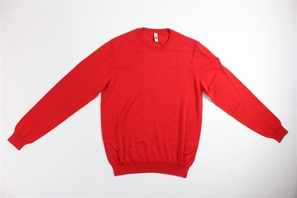 maglia girocollo tinta unita COLMAR | Maglie | 4453ROSSO