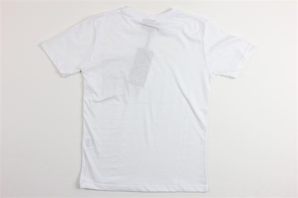 t-shirt mezza manica tinta unita con stampa COMME DES FUCKDOWN | T-shirts | TSCD2120JBIANCO