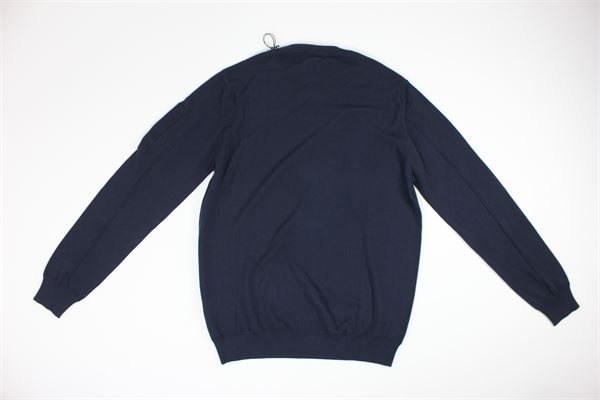 maglia girocollo tinta unita C.P. COMPANY | Maglie | 08CMKN258ABLU