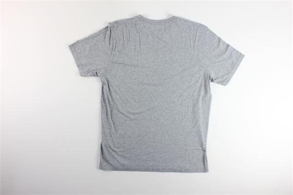 t-shirt tinta unita con stampa C.P. COMPANY | T-shirts | 08CMTS140AGRIGIO