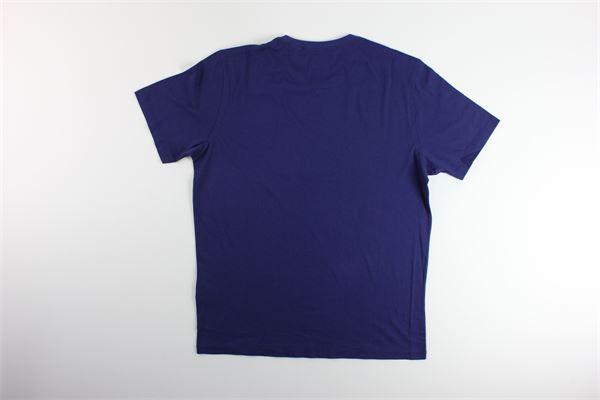 t-shirt tinta unita con stampa C.P. COMPANY | T-shirts | 08CMTS291AVIOLA