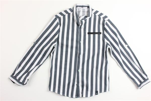 DANIELE ALESSANDRINI | Shirts | 1235C0336BIANCO/BLU