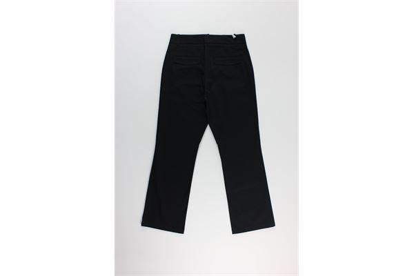 pantalone zampetta tinta unita DEPARTMENT FIVE | Pantaloni | D20P50NERO