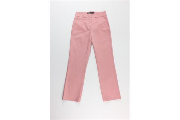 pantalone zampetta tinta unita DEPARTMENT FIVE | Pantaloni | D20P50ROSA