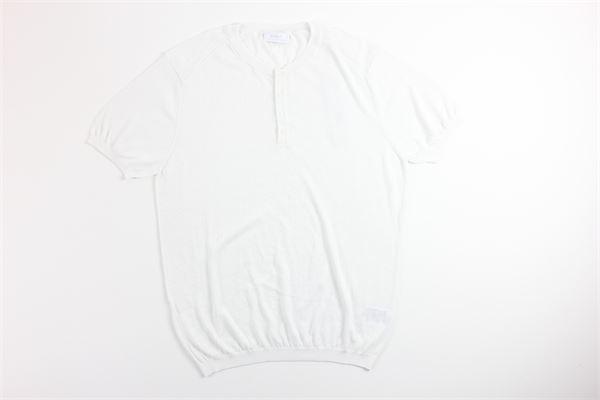 t-shirt mezza manica tinta unita DIKTAT | T-shirts | DK77012BIANCO