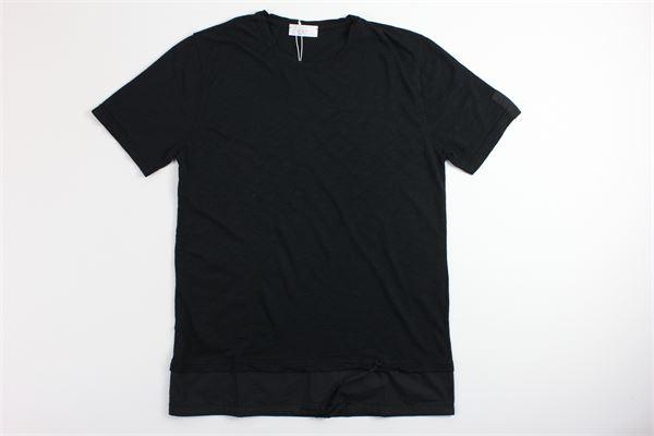 t-shirt mezza manica tinta unita DIKTAT | T-shirts | DK77146NERO