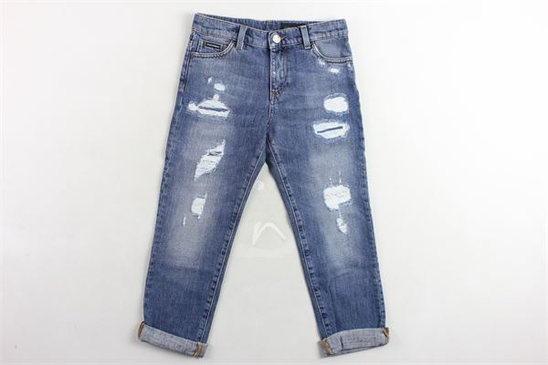 jeans 5 tasche DOLCE & GABBANA | Jeans | L42F03LD860BLU