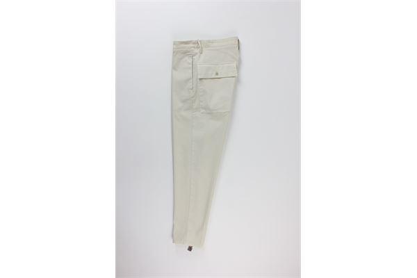 pantalone tinta unita con tasconi DON THE FULLER | Pantaloni | HOUSTONBEIGE