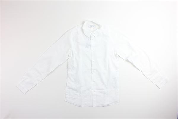 camicia manica lunga tinta unita DONDUP | Camicie | BC082BIANCO