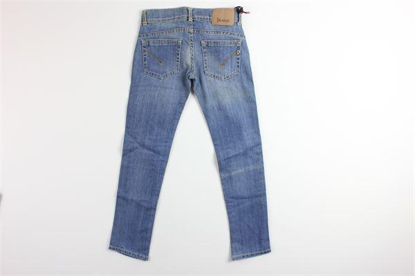 jeans in denim 5 tasche con girovita regolabile DONDUP | Jeans | BP217BLU