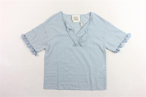 DOU DOU   Shirts   CA29CELESTE
